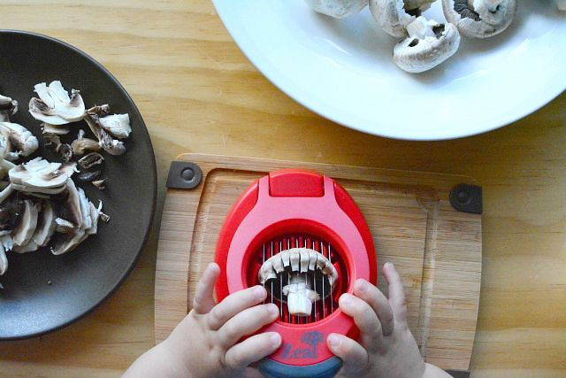 Montessori - Cooking and food preparation with toddlers.
