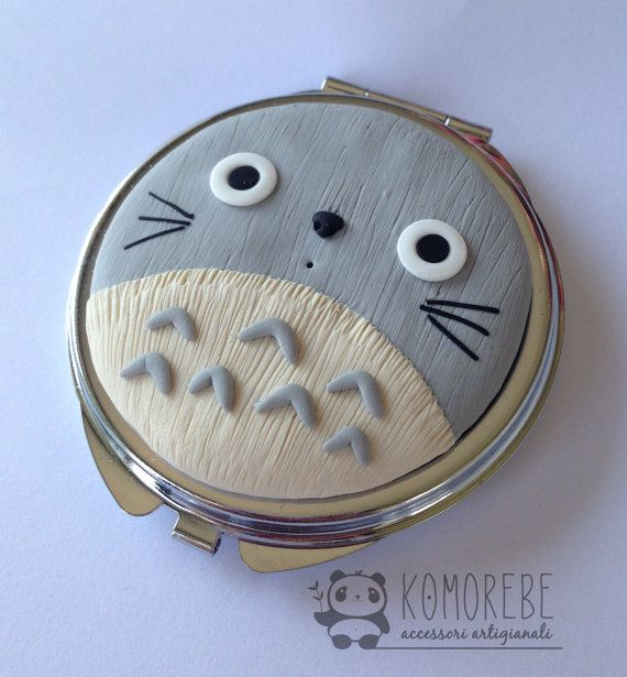My Neighbor Totoro mirror pocket mirror Ghibli by KOMOREBE15