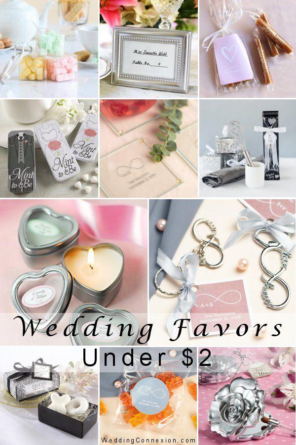 Exquisite Wedding Favors Under 2 Wedding Favors