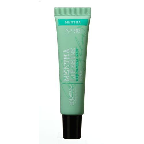 C.O. BIGELOW MENTHA LIP SHINE/BREATH FRESHENER - NO. 502 http://www.bigelowchemists.com/skincare/lips/c-o-bigelow-mentha-lip-shine-breath-freshener-no-502.html