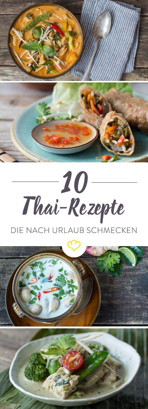 Von Pad Thai bis Sticky Rice mit Mango - 10 thailändische Rezepte, die für Urlaubsfeeling auf dem Teller sorgen.