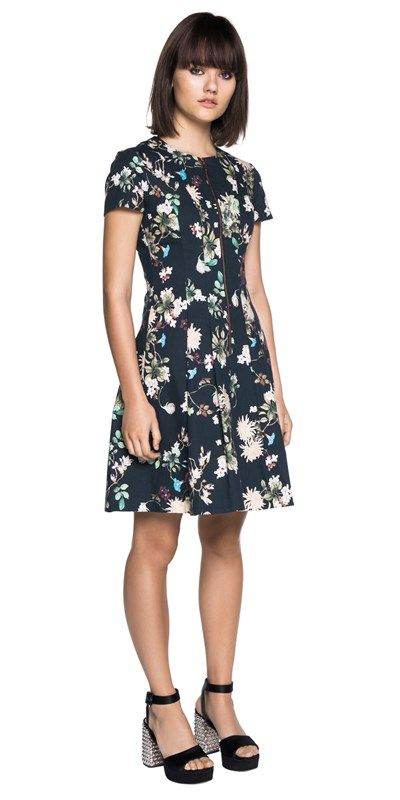 Dresses | Orchid Blossom Ottoman Dress