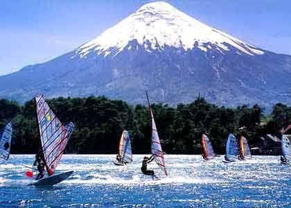 Lago Villarrica , Chile
