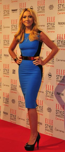 Turkish Singer, Hadise Açikgöz | Elle Style Awards 2012