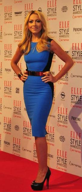 Turkish Singer, Hadise Açikgöz | Elle Style Awards 2012