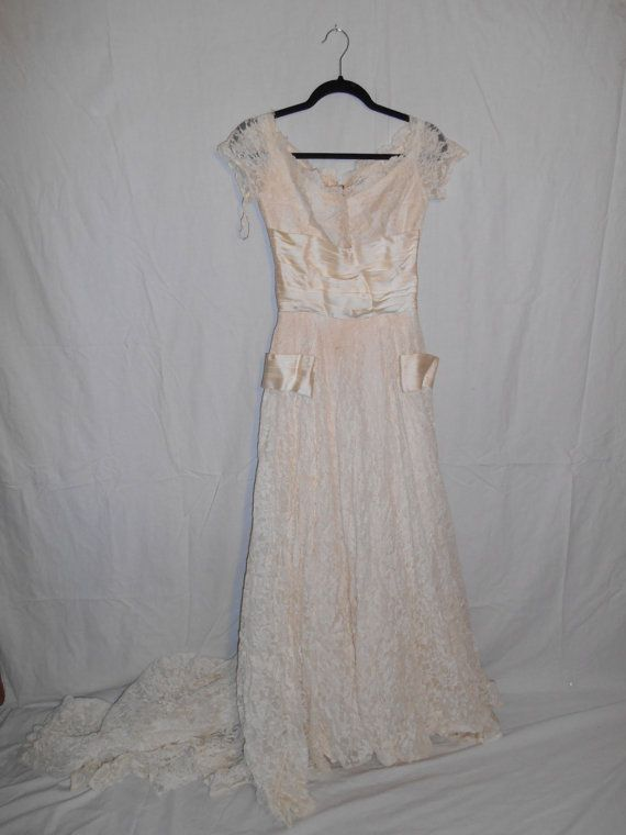Vintage womens clothing 40s 50s   Wedding by ATELIERVINTAGESHOP, $400.00