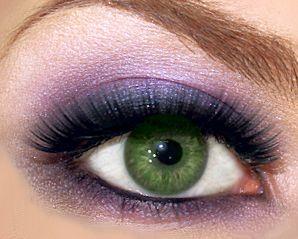 C�mo maquillar los ojos verdes