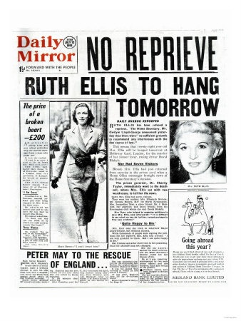 Ruth Ellis inspires the new play The Thrill of Love at the St James Theatre. Read our review: http://www.arbuturian.com/2013/the-thrill-of-love