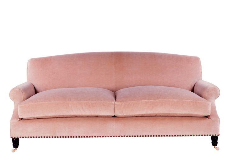 Madeline Stuart Sofa Design Pink Sofa Traditional Sofa