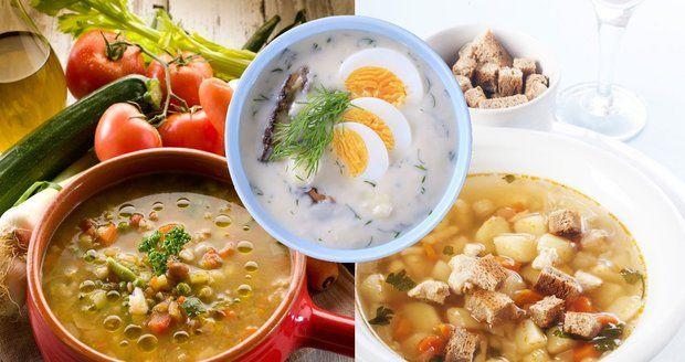 Uvařte si výborné polévky podle receptů našich babiček.