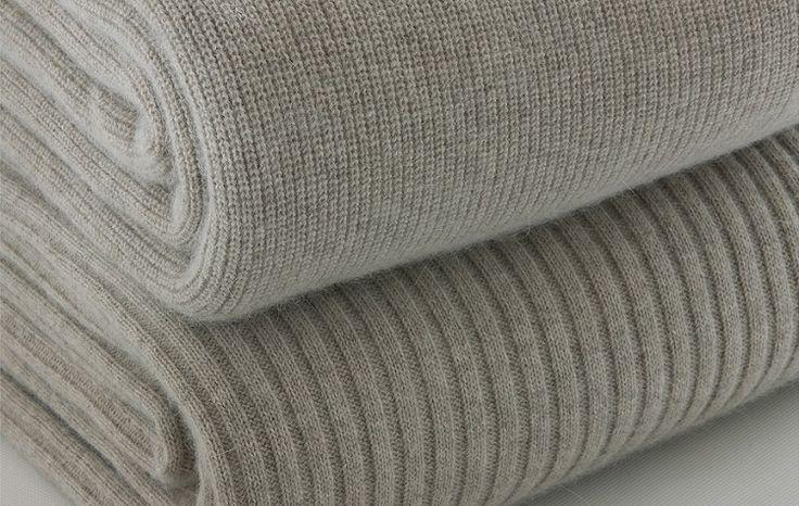 Bemboka Blankets: angora and superfine merino blanket - chain rib, wide rib: www.bemboka.com/