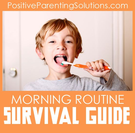 How to use a When-Then morning routine to put your kids in charge of themselves