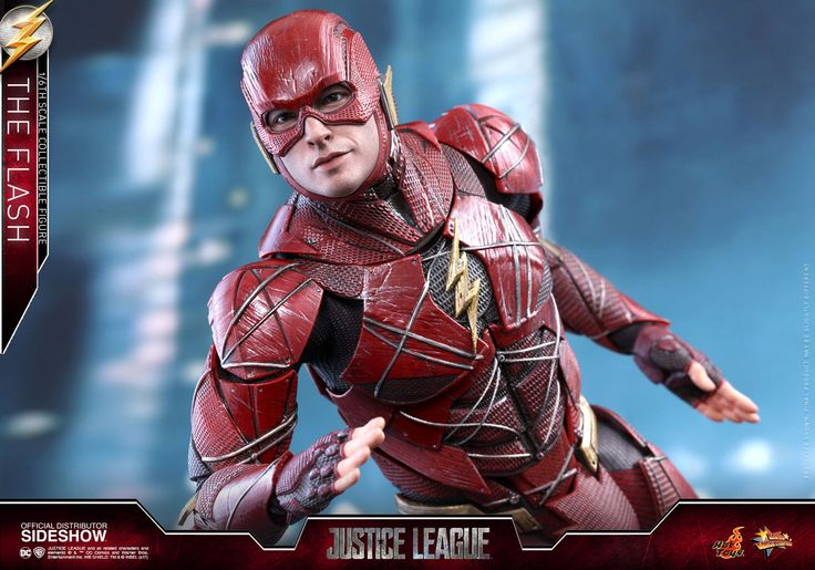 Hot Toys Releases First Look At Justice Leagues The Flash 1/6th Scale Figure