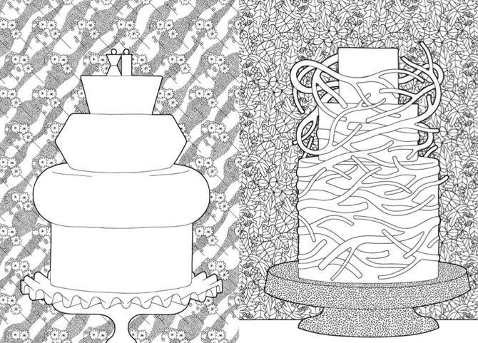 100 Cupcakes A Colorier