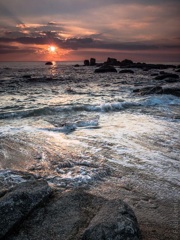 Finistère, Bretagne, la pointe de La Jument à Trégunc
