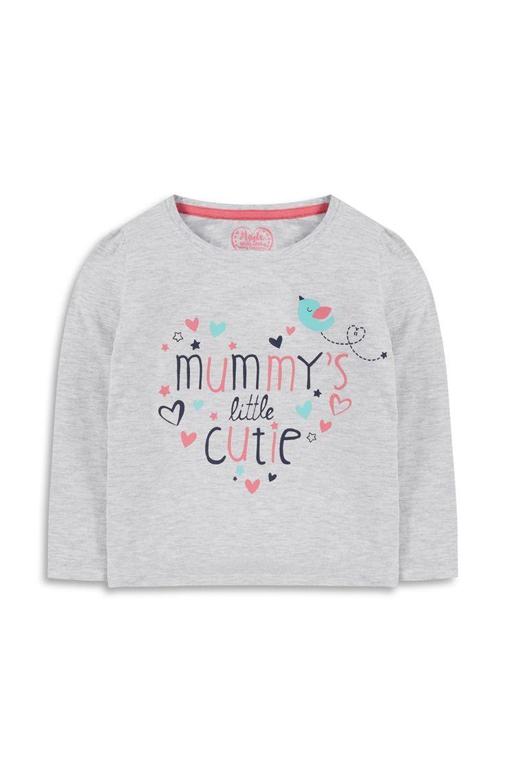 Primark - Roze trui met Mummy's Cutie-print