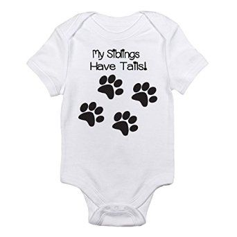 I LOVE this baby onesie! http://www.amazon.com/Siblings-Tails-One-piece-Bodysuit-Months/dp/B00PI7JSIU/ref=sr_1_154?s=apparel&ie=UTF8&qid=1436632526&sr=1-154&keywords=baby+onesies