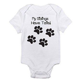 I LOVE this baby onesie! http://www.amazon.com/Siblings-Tails-One-piece-Bodysuit-Months/dp/B00PI7JSIU/ref=sr_1_154?s=apparel&ie=UTF8&qid=1436632526&sr=1-154&keywords=baby+onesies