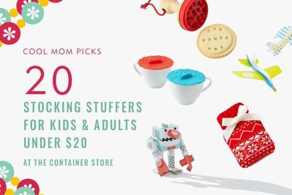 It's not just gift wrap + storage solutions; we searched The Container Store and found 20 cool stocking stuffers for kids and adults. Yay one-stop shopping!