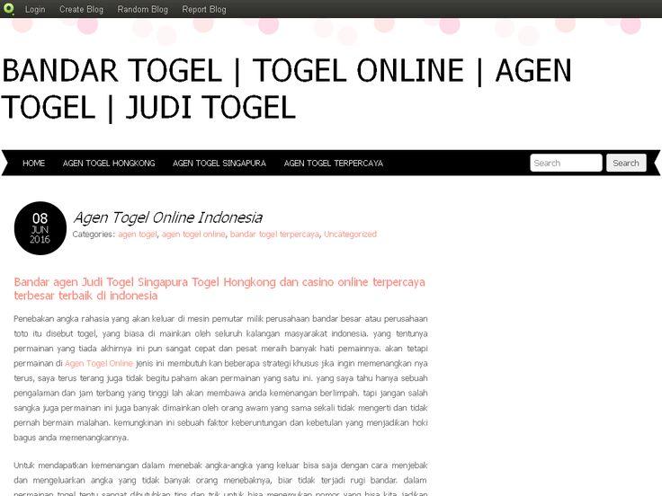 Bandar Togel   Togel Online   Agen Togel   Judi Togel