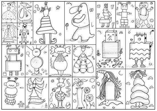 Princesses, monstres, robots par Nanoug