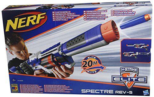 Nerf - N-Strike Elite - Spectre REV-5 - Fusil avec Canon ... https://www.amazon.fr/dp/B00K3TNYPQ/ref=cm_sw_r_pi_dp_s3IkxbJ4B2AH1