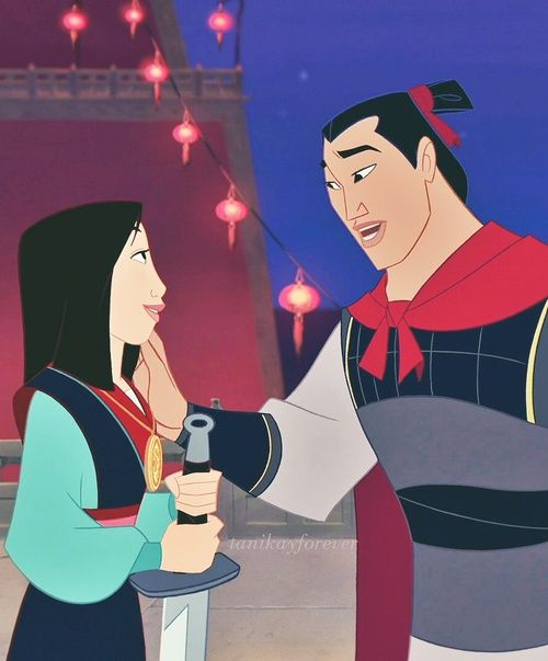 """""""You fight good."""" Good one, Shang. You lady killer, you."""