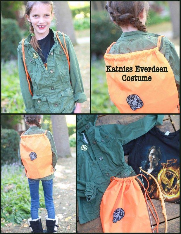 Katniss Halloween costume, Katniss Everdeen costume, hunger games Halloween costume, make your own Katniss costume, hunger games, Halloween, DIY Katniss costume