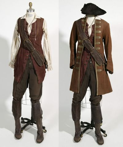 Pretty sure this is from POTC... but it's basically Jean's daily garb. Except the coat is red.