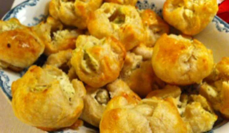 Goda små smördegspuffar som passar som tilltugg eller förrätt.