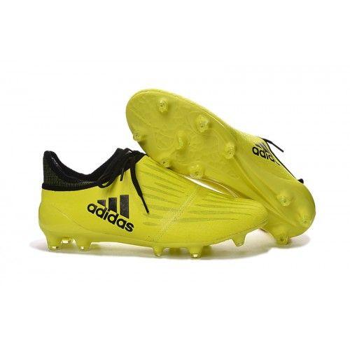 Scarpe Calcio Adidas 2016 X 16 Purechaos FG AG Giallo Nere
