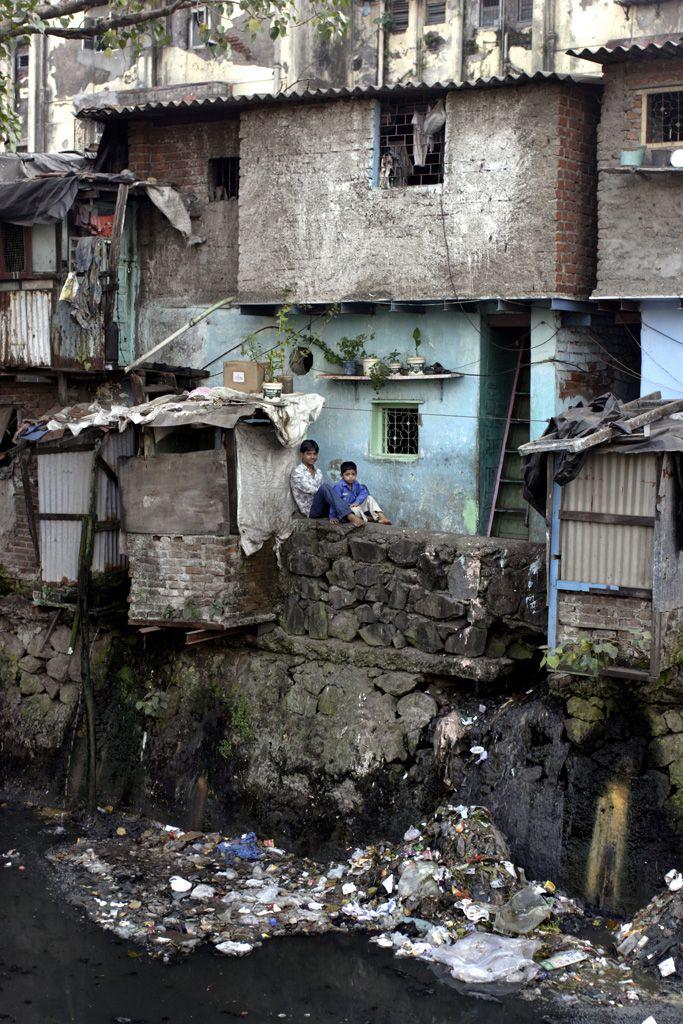 Dharavi . Asia's largest slum
