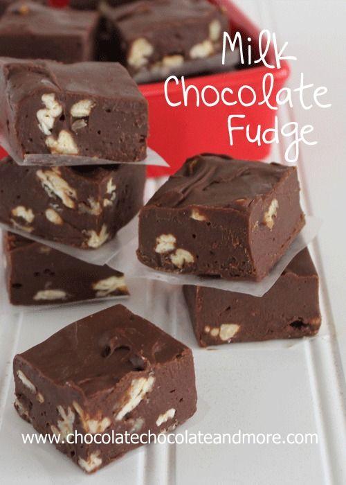 Milk Chocolate Fudge-smooth, creamy and easy to make!