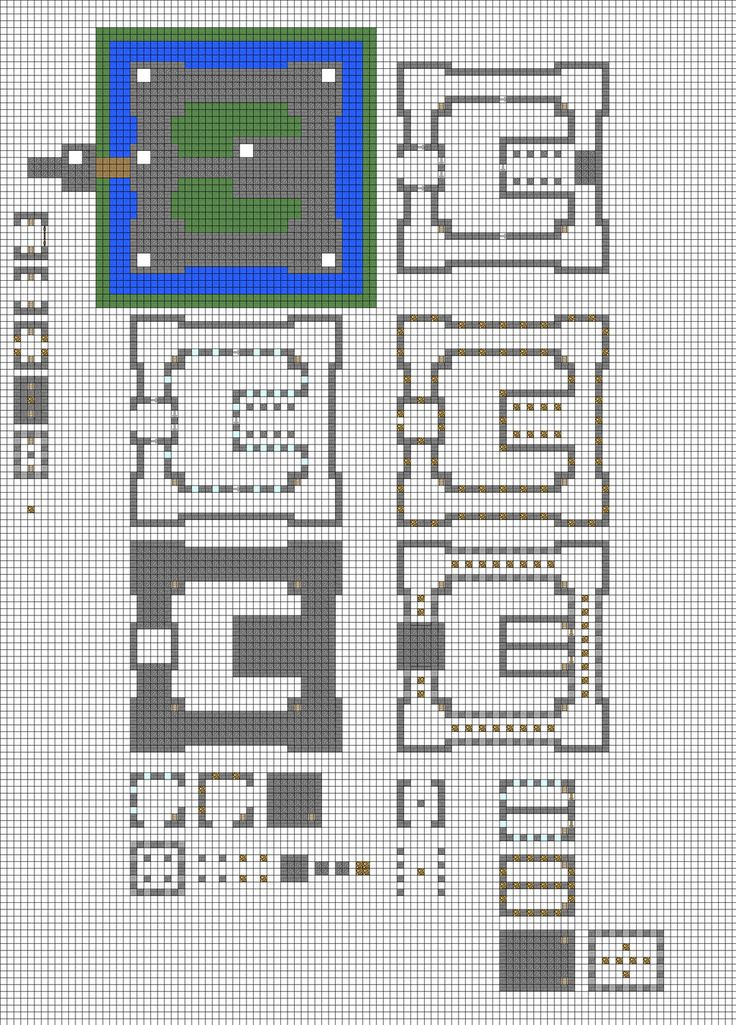 Best 25 Minecraft Blueprints Ideas On Pinterest