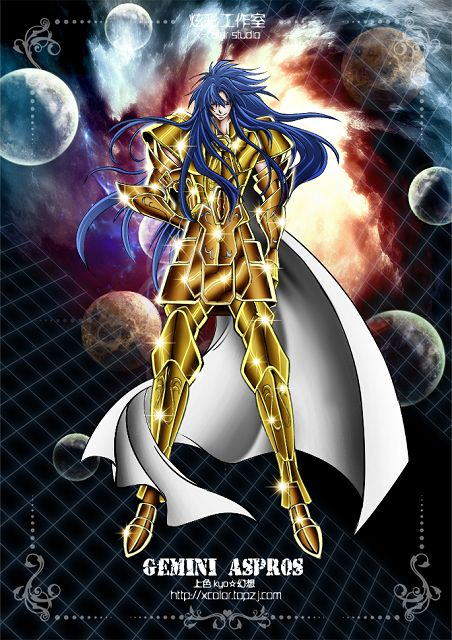 Saint Seiya - The Lost Canvas - Gemini Aspros