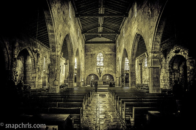 Aigues Mortes Cathedral by tibchris, via Flickr