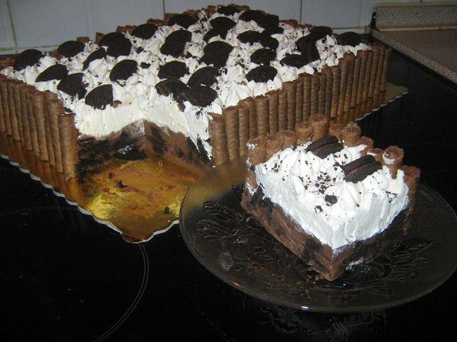 Μπισκοτογλυκό με μπισκότα oreo !!! ~ ΜΑΓΕΙΡΙΚΗ ΚΑΙ ΣΥΝΤΑΓΕΣ 2