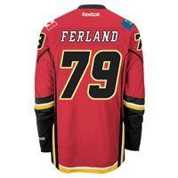 Michael Ferland Calgary Flames Reebok Premier Replica Home NHL Hockey Jersey: Hand-sewn with IJPro… #Sport #Football #Rugby #IceHockey
