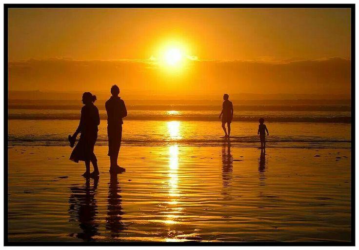 Melkbosstrand at sunset