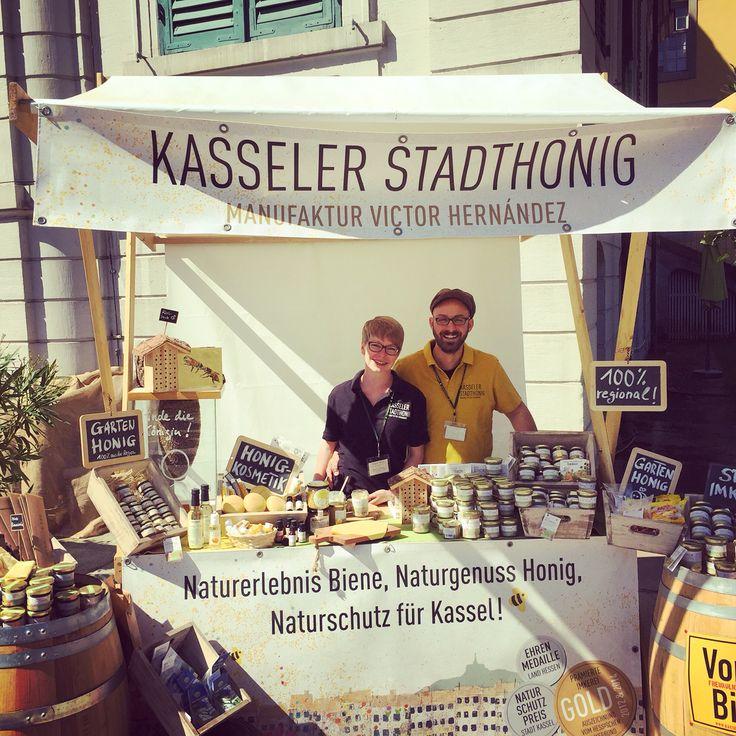 Elegant Urbanhoney Pop up shop on Gartenfest Schloss Wilhelmstal Kassel Casselfornia
