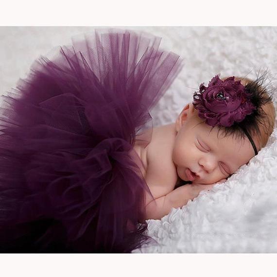 Lovely Newborn Baby Headband Photography Prop Baby Girl Princess Flower Headband