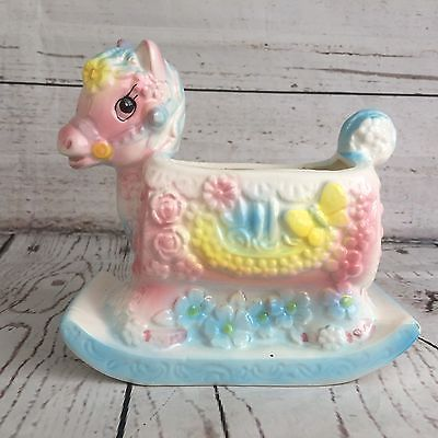 Vintage 1960s INARCO Japan Baby Rocking Horse Ceramic Planter Pottery E-6040 | Collectibles, Decorative Collectibles, Planters | eBay!