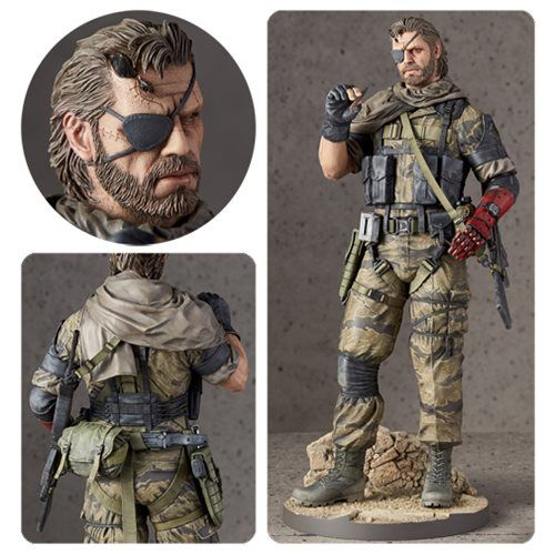 (affiliate link) Metal Gear Solid V: The Phantom Pain Venom Snake 1:6 Scale Statue