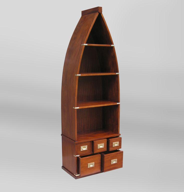 Nautical Style Bookcase