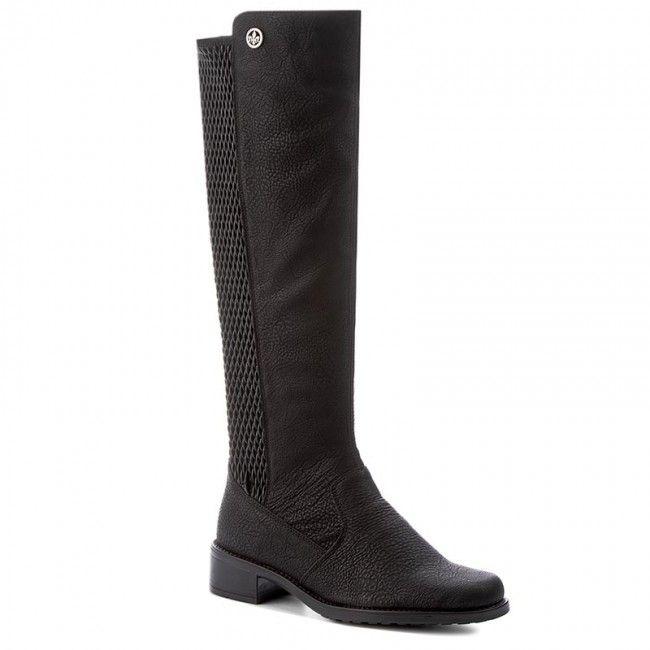 Rieker Damen Stiefel schwarz Z7354 00