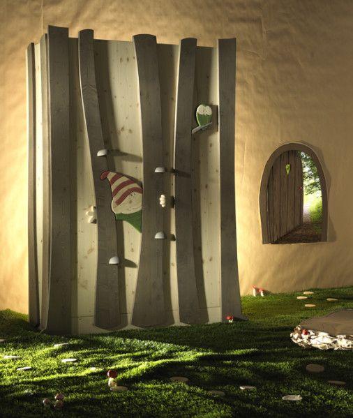 idée déco thème lutin bois pour la chambre de bébé