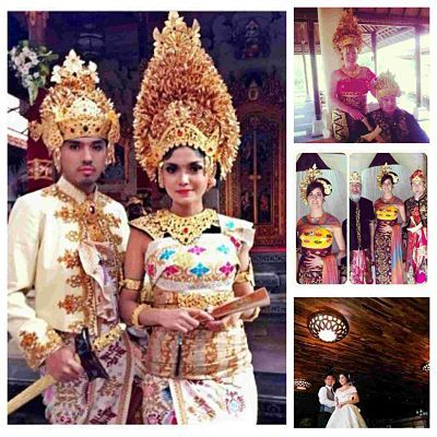 We give services for rent gown balinese n modern for wedding party in bali  royal balinese 3,500,000rp simple balinese 2,500,000rp  modern line 1,500,000rp modern bowl 2,250,000rp  kadek arik +6287861661428  kadekerik@gmail.com