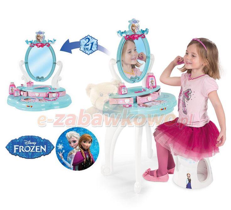 SMOBY TOALETKA FROZEN KRAINA LODU 2w1 24996 - POZOSTAŁE - sklep z zabawkami e-zabawkowo.pl