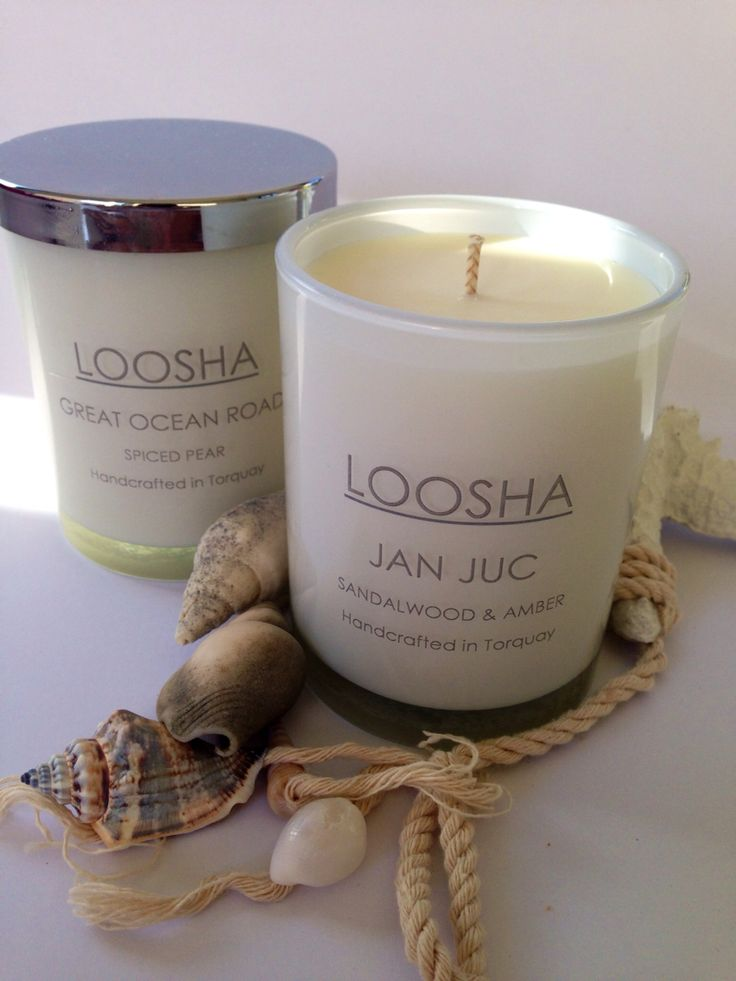 Our limited edition Surfcoast jars - only available at Torquay's Cowrie Market www.loosha.com.au Soy Candles handcrafted in Torquay, Victoria