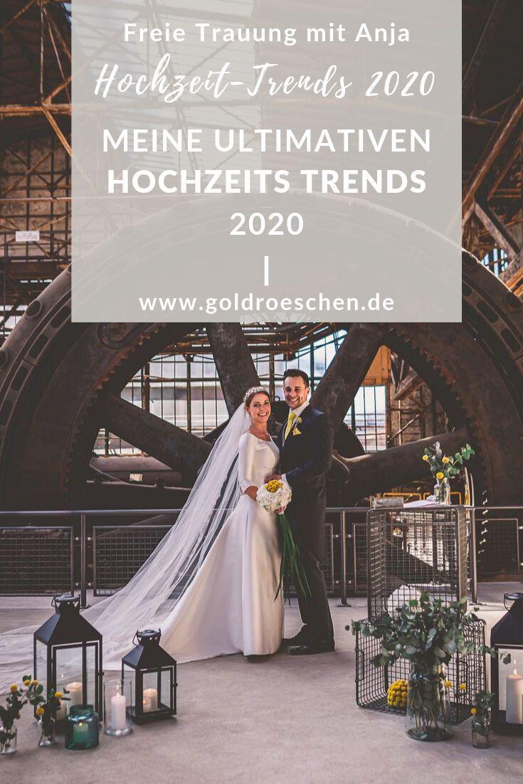Die Schonsten Hochzeitstrends 2020 Hochzeit Hochzeit Aktivitaten Kleid Hochzeit